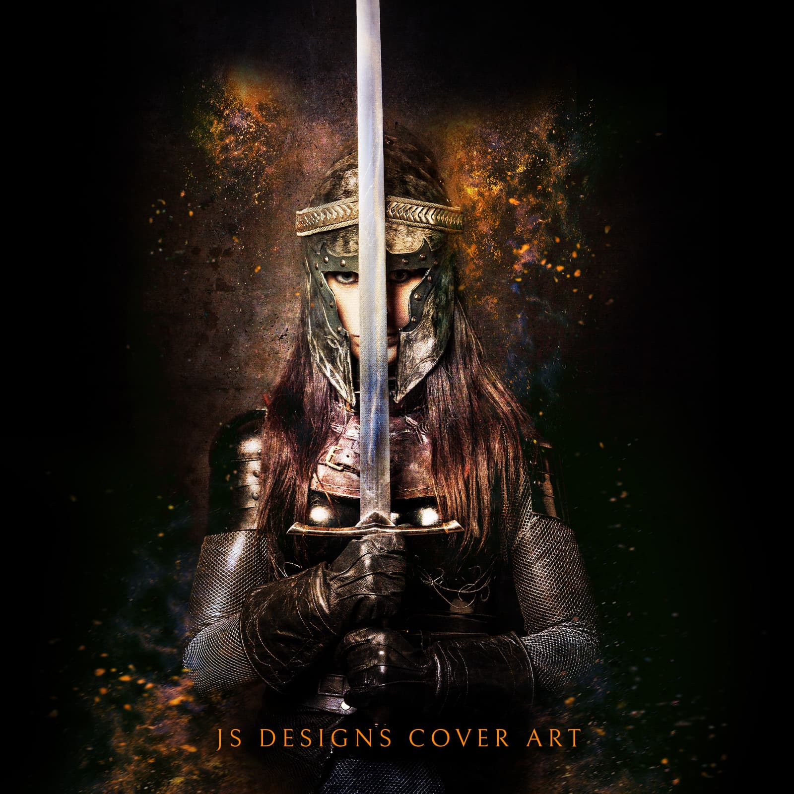 Vella Fantasy Girl With Sword